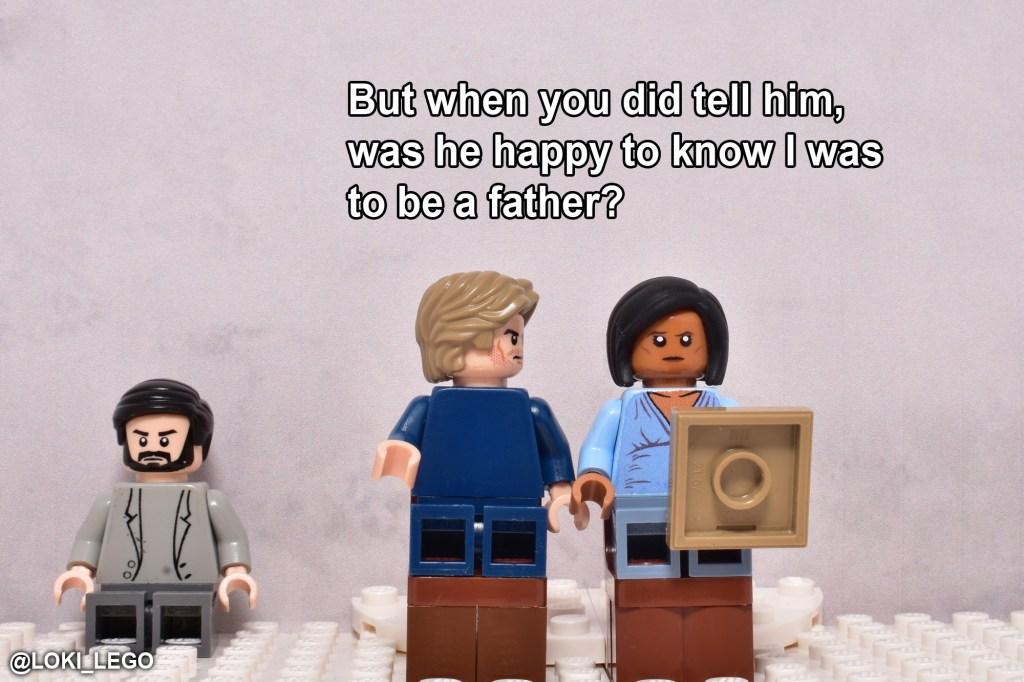 LEGO Betrayal Scene Five