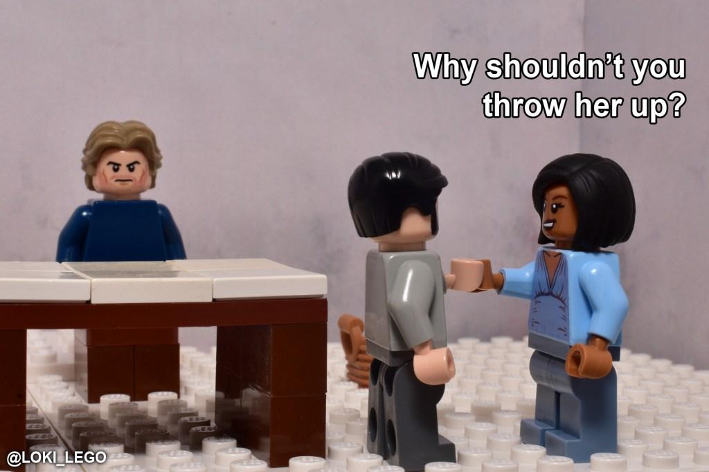 LEGO Betrayal Scene Six