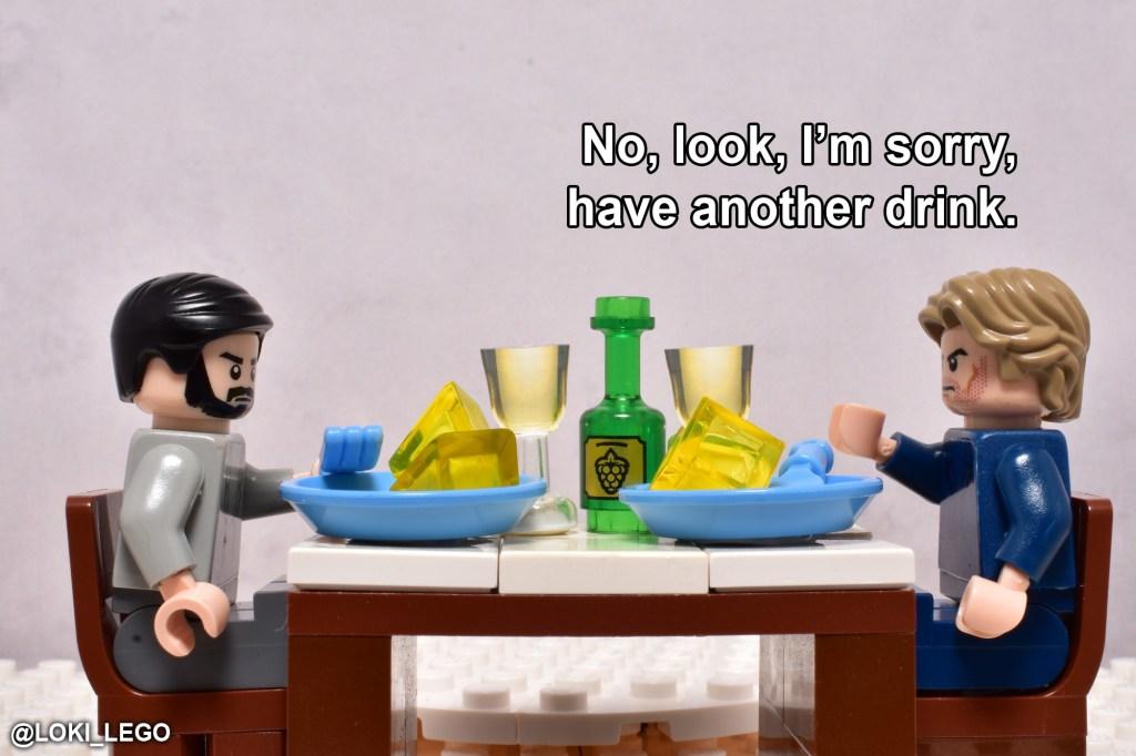 LEGO Betrayal Scene Seven