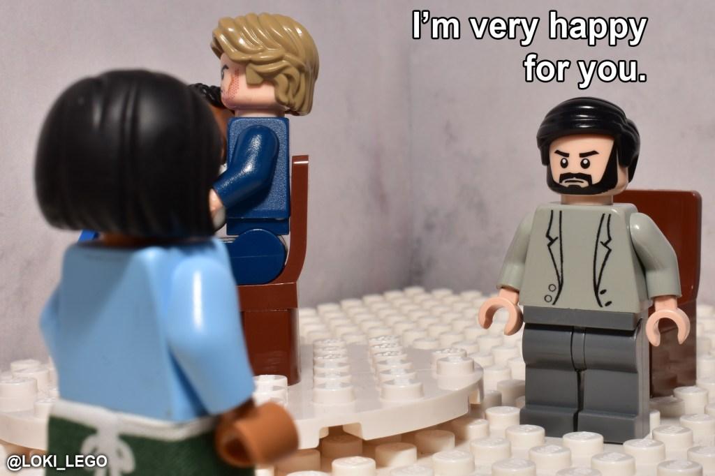 LEGO Betrayal Scene Eight