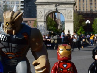 Avengers Infinity War Washington Square Park