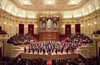 Inside the Royal Concertgebouw.