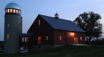The Barn at Silo HIll in Phoenix, Maryland.