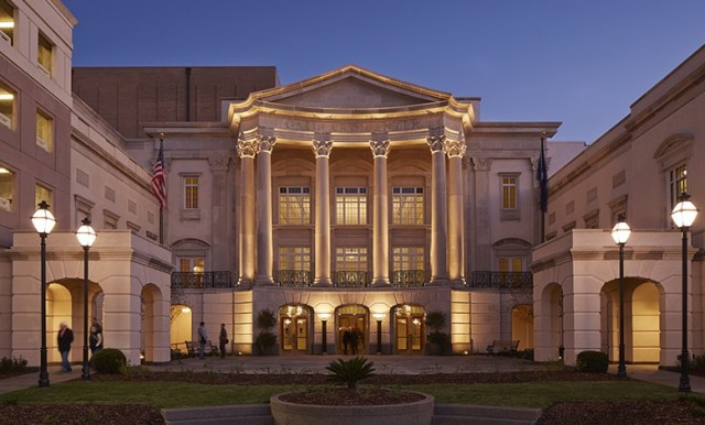 The new Gaillard Center in Charleston, South Carolina. Designed by David M. Schwarz Architects, 2010.
