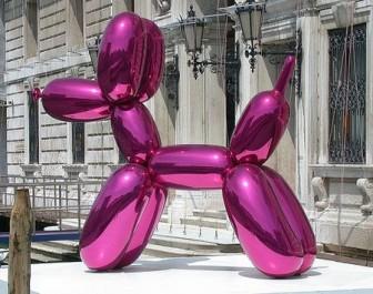 Jeff Koons: Balloon Dog (Magenta), 2000
