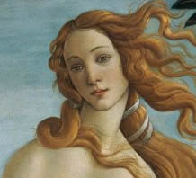 Sandro Botticelli: The Birth of Venus (detail), 1486