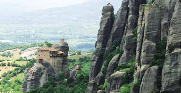 Moni Agios Nikolaos Anapafsas, Meteora, Greece