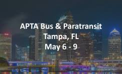 APTA Bus & Paratransit conference advertisement.
