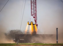 SpaceX Dragon 2 Capsule Hover Test