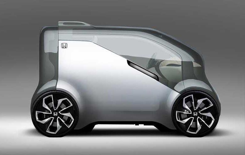 Future cars 5 concept vehicles from ces 2017 futrtech for Future honda cars