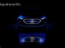mercedes benz electric cars
