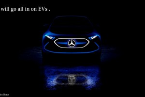 mercedes benz electric cars