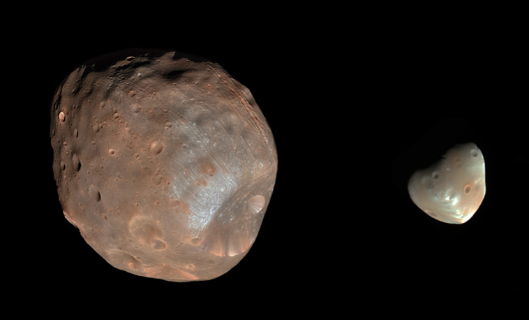 Moon Mars And 27 August