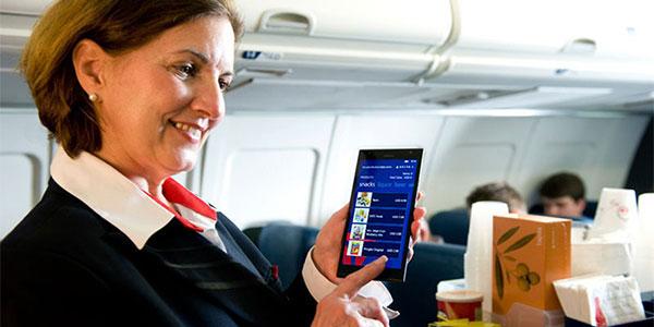 Delta Air Lines in-flight experience