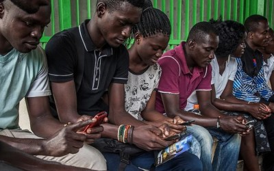 Internet users Africa