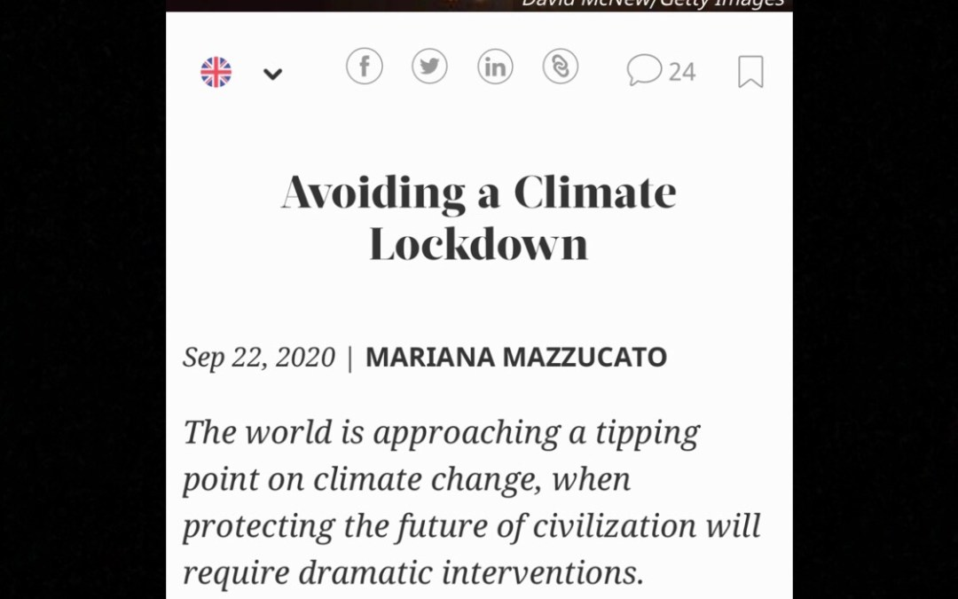 Climate Lockdowns