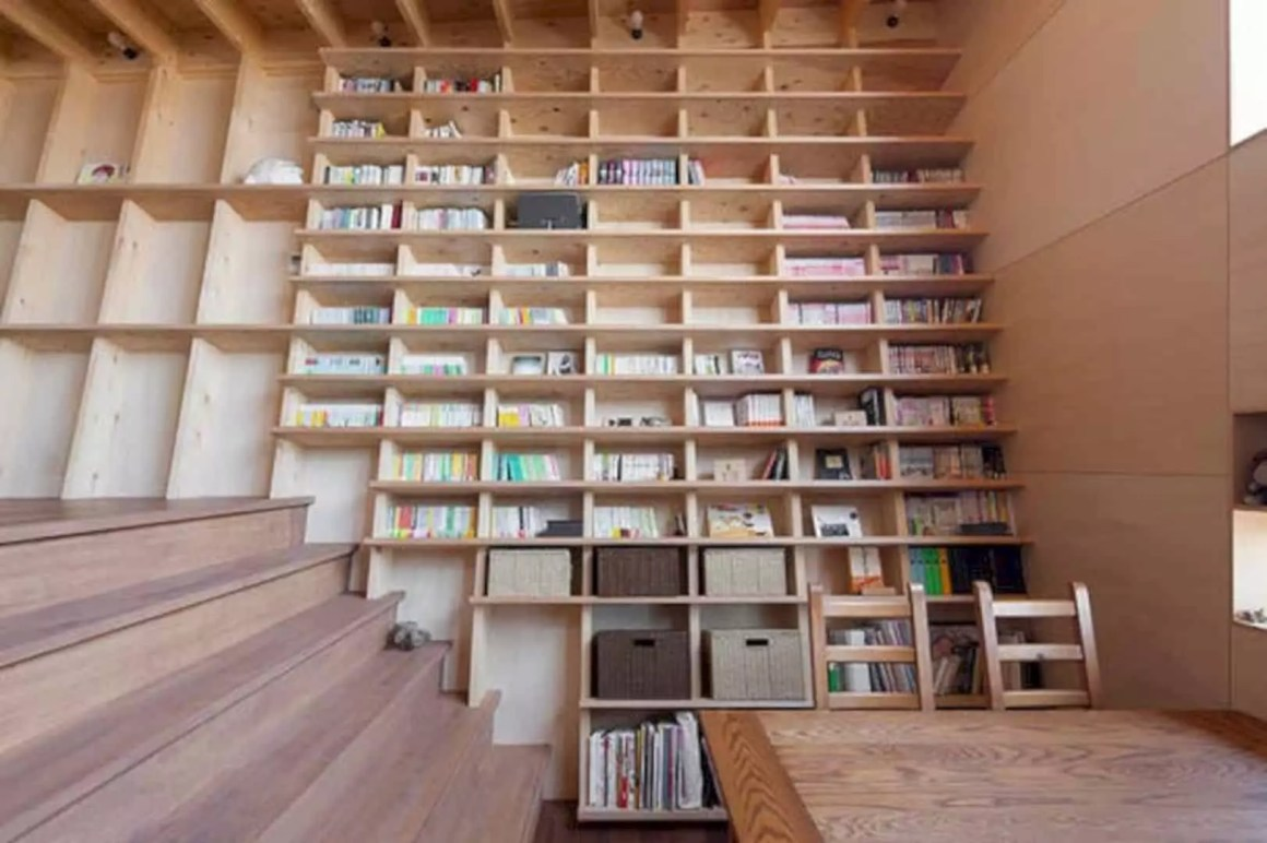 A modern home design for book addicts futurist architecture for Modern house design books