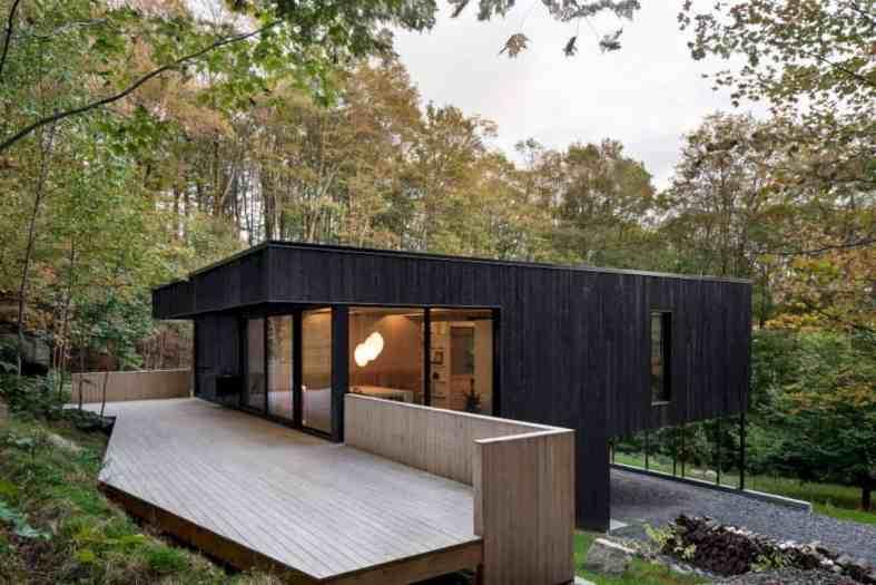 The Rock A Black House On A Hillside 8