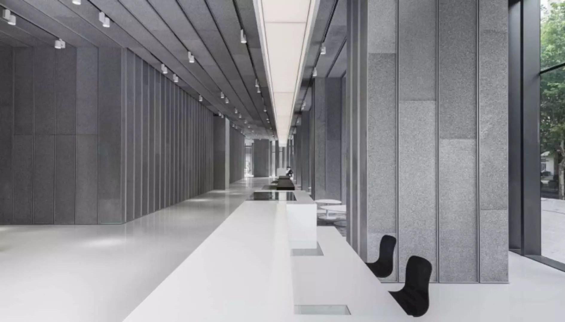 Aluminum Lobby: An Environmental-Friendly Lobby with Futuristic Design