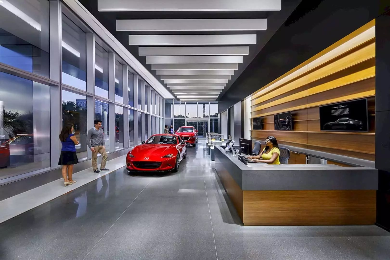 Mazda north america headquarters an office space focuses for Mazda motor of america inc