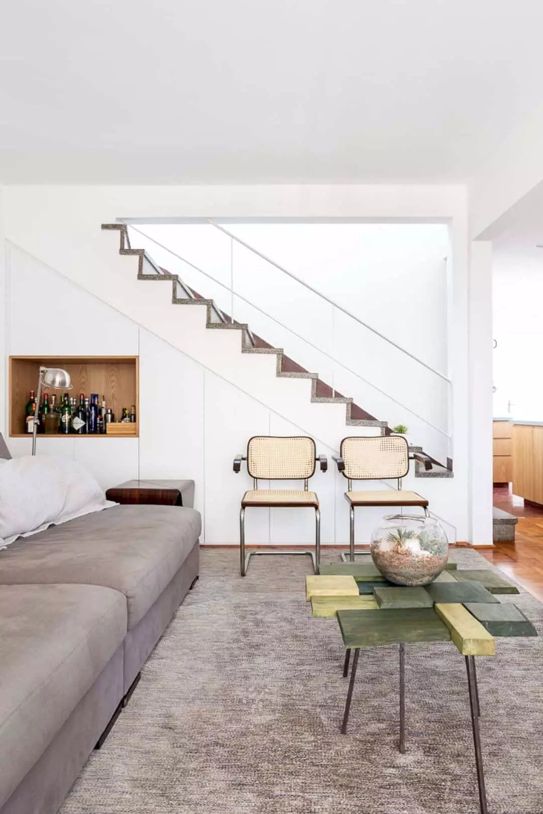 Apartment BF 81: A Two-Floors Residence with Contemporary Interior Design