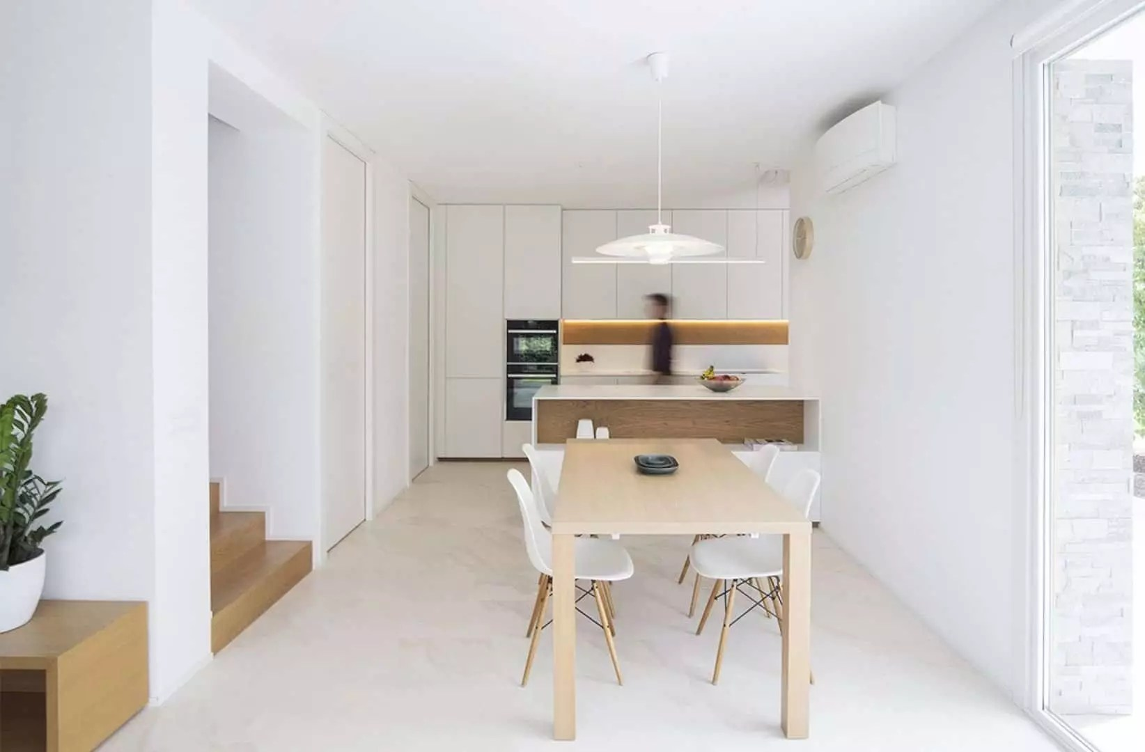 House MV: Small Project of A House with Modern Interior and Outdoor Living Area