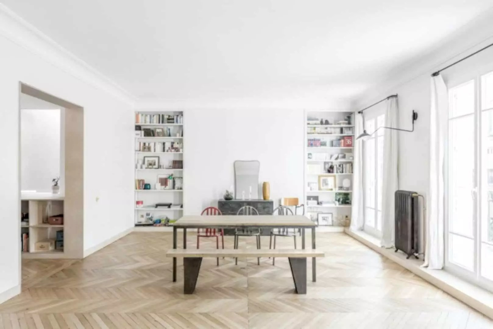 Modern Interieur Warm : Legrand new apartment structure with warm and modern interior