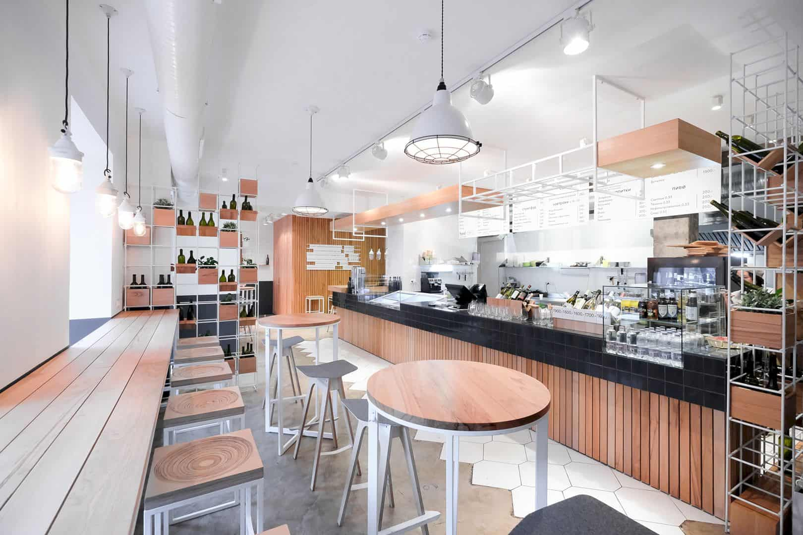 FJORD Seafood Bistro: A Seafood Restaurant with Modern Interior and Beautiful Surface Design