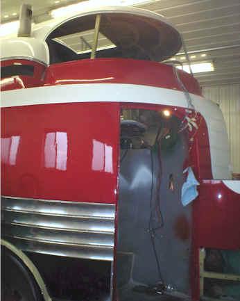 GM Futurliner Progress Photos GM Futurliner Restoration