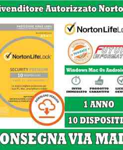 Norton Security Premium 10 device