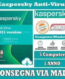 Kaspersky Anti-Virus 5 Computer 1 Anno