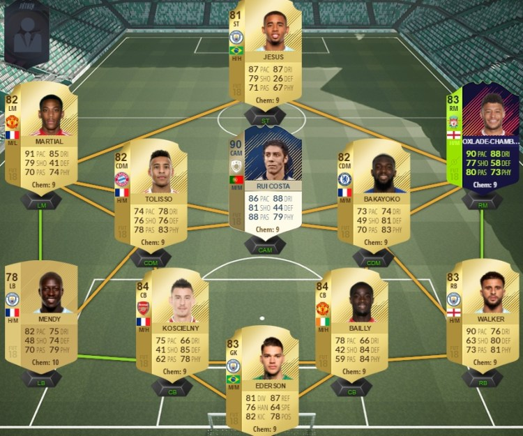 fut 18 review bailly equipe