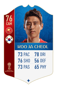 fifa 18 world cup AFC koo ja cheol