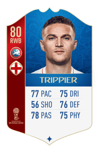 fut 18 world cup angleterre trippier