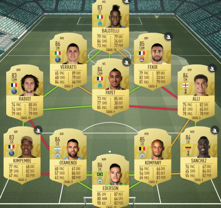 fut19 solution dce rashford premier league