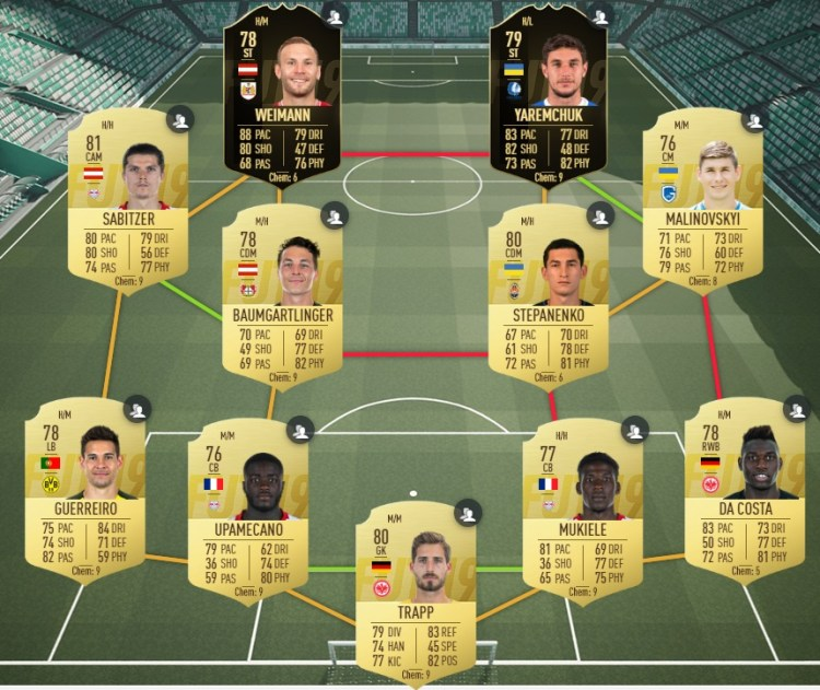 fut19 solution dce gullit champion