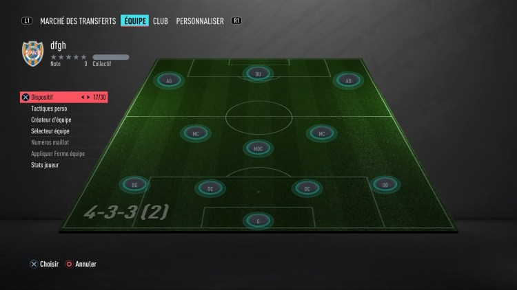 fut 20 guide des formations 4-3-3-2