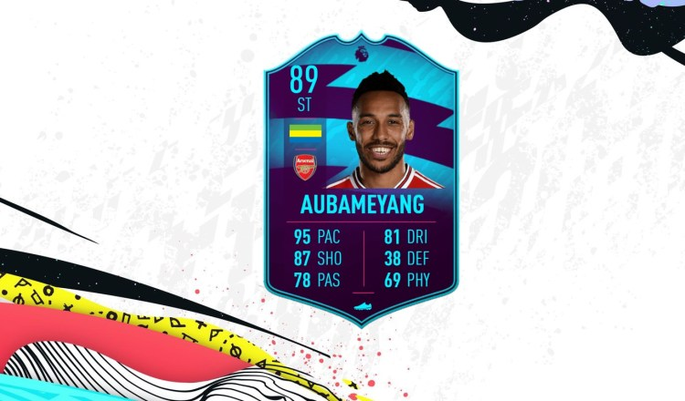 FUT 20 aubameyang potm solution dce mini