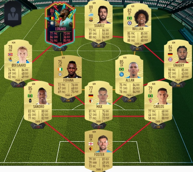 fut 20 prediction totw 15 team