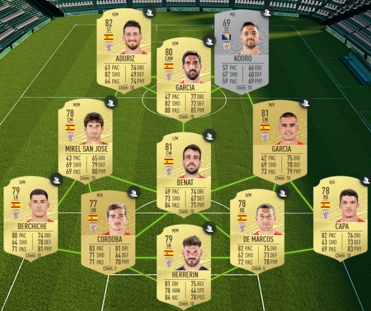 fut 20 solution dce laliga bilbao
