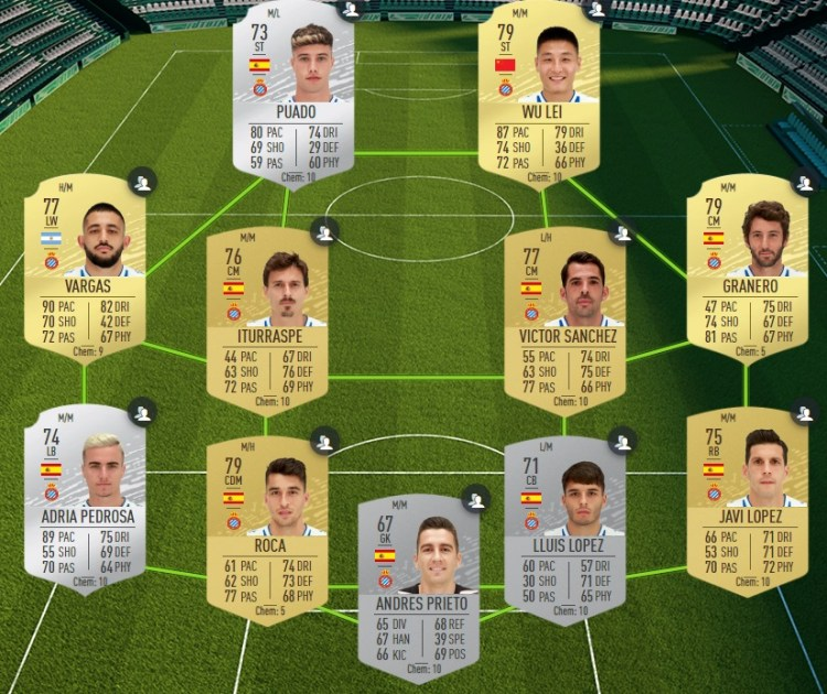 fut 20 solution dce laliga espanyol