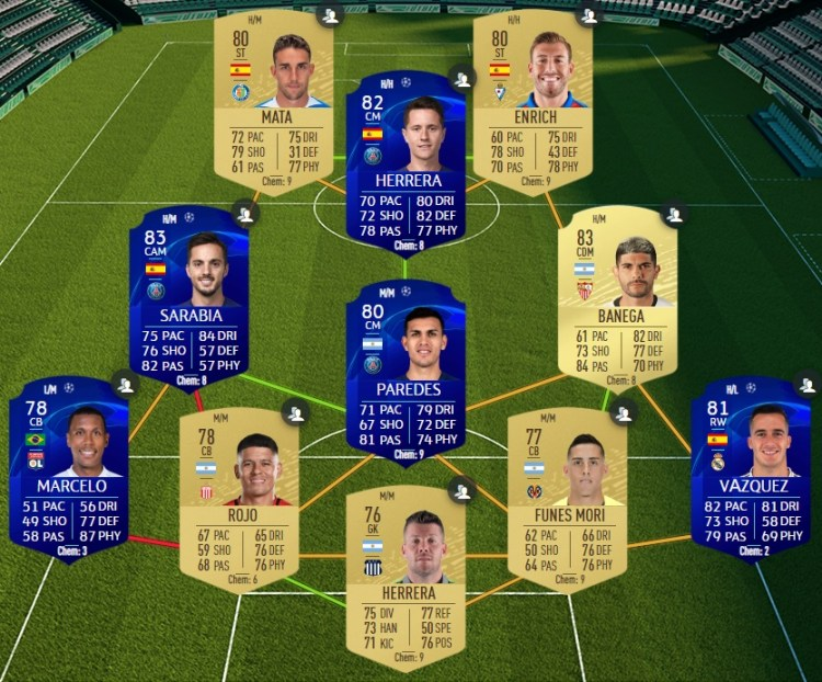 fut 20 solution dce affiches ldc passees real madrid ajax