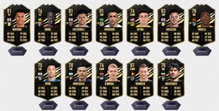 fifa 21 prediction totw 2 bench