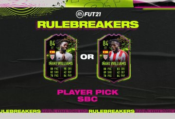 fifa 21 solution dce inaki williams rulebreakers mini