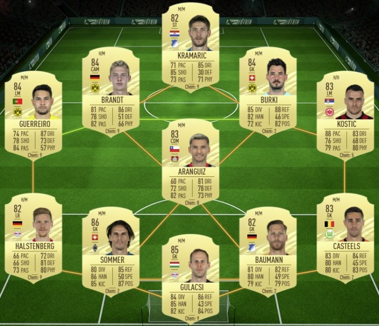fut 21 solution dce ozil birthday selection nationale