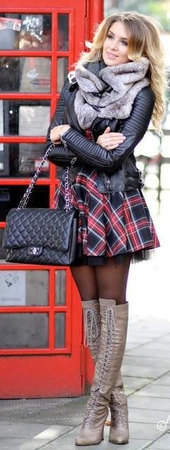look en jupe cuissardes