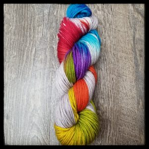 A skein of Punk Rock Rainbow