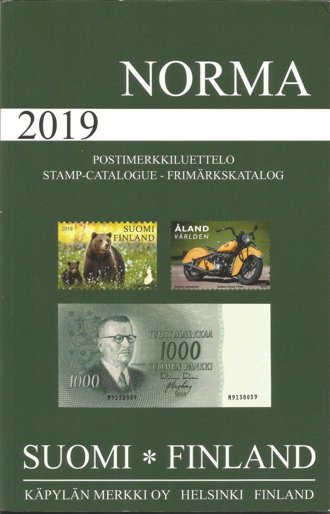 Norma Finland catalogus