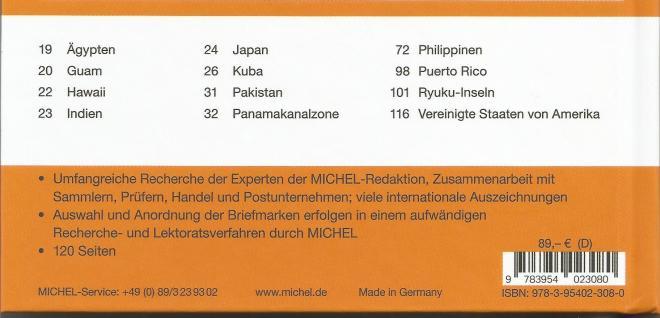 Michel catalogus USA buitenlandse gebieden