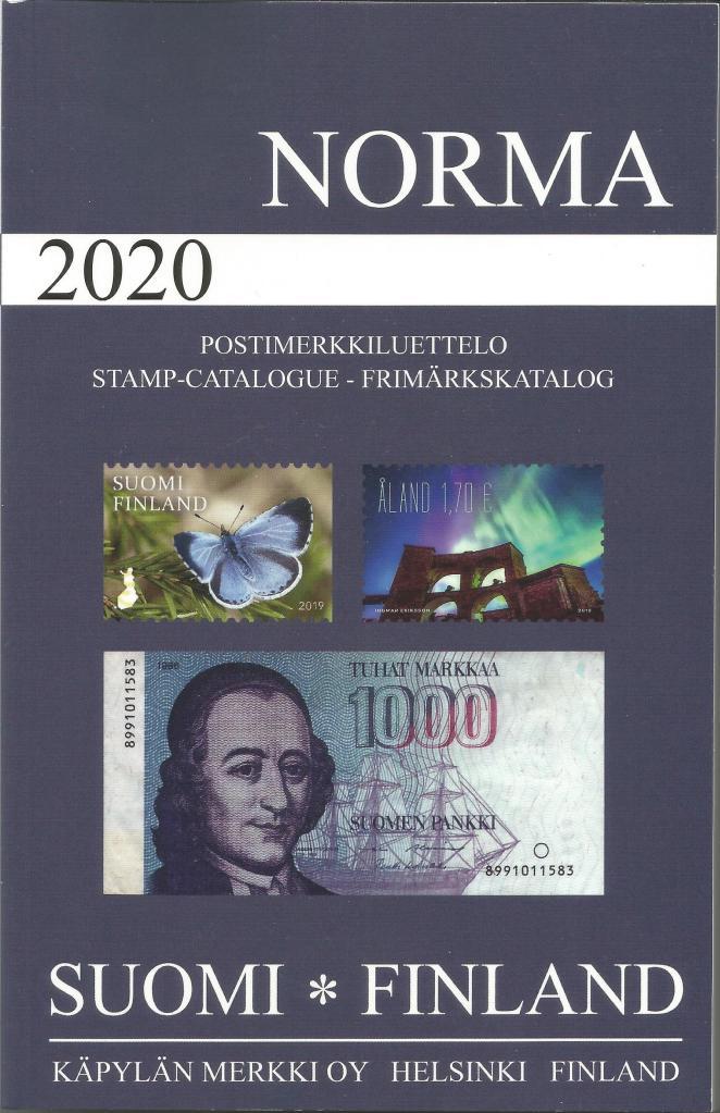 Norma catalogus Finland 2020